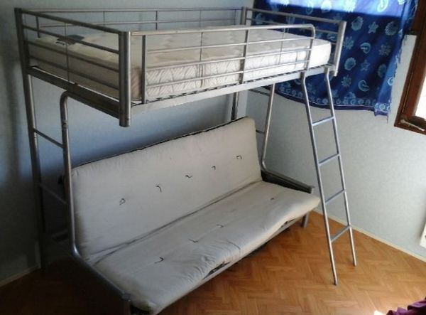 excellent lit clicclac meubles with lit mezzanine avec clic clac conforama with lit mezzanine. Black Bedroom Furniture Sets. Home Design Ideas