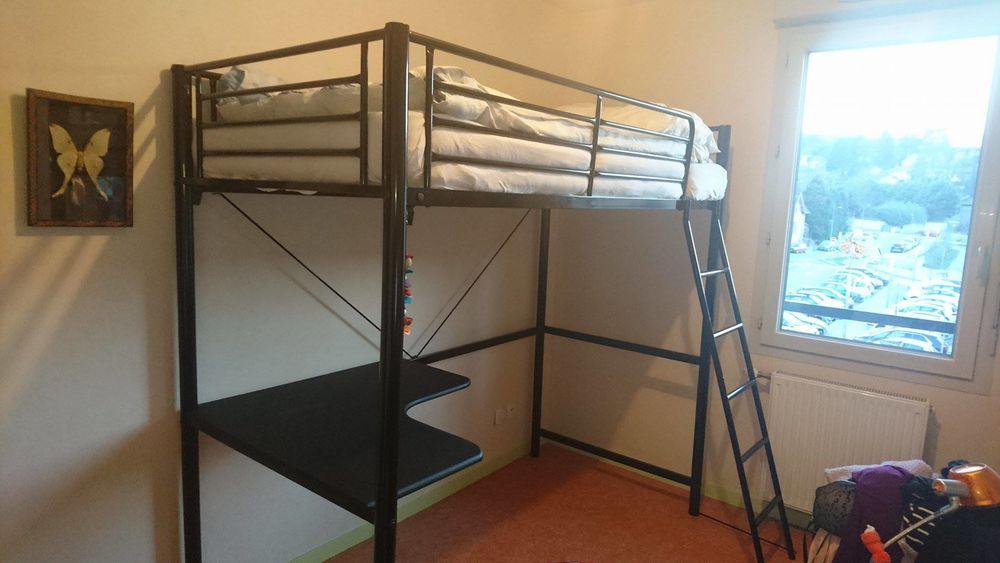 lits mezzanine occasion dans le rh ne 69 annonces achat et vente de lits mezzanine. Black Bedroom Furniture Sets. Home Design Ideas