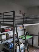 Lit mezzanine Modele IKEA 0 Paris 11 (75)