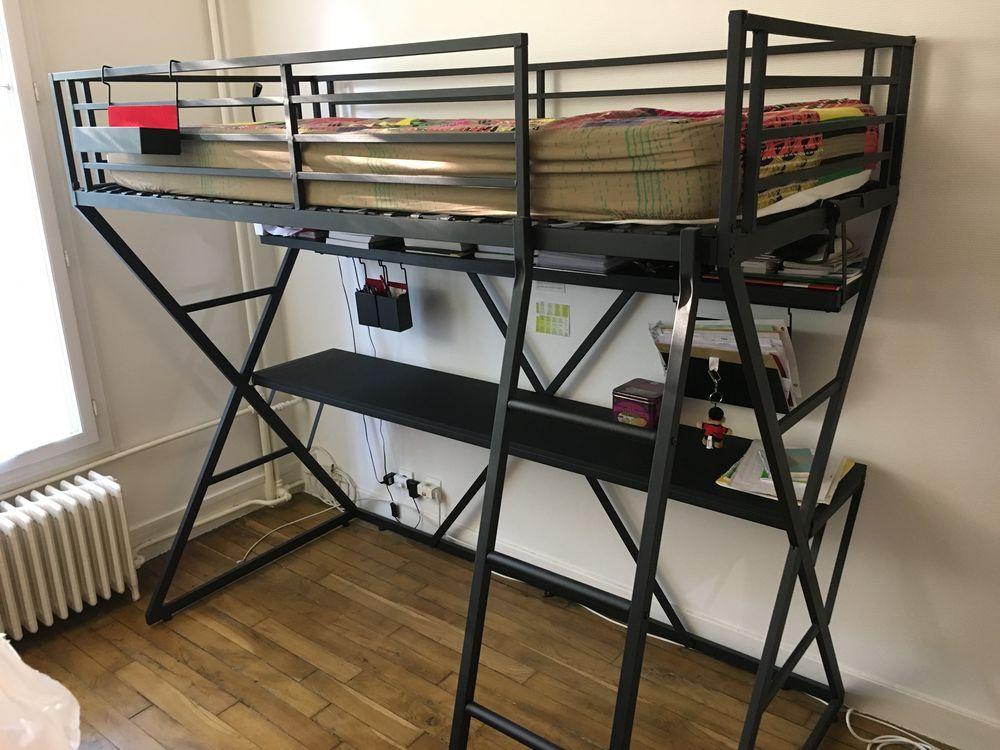 Mezzanine noire, 1 place, bureau intégré 150 Malakoff (92)