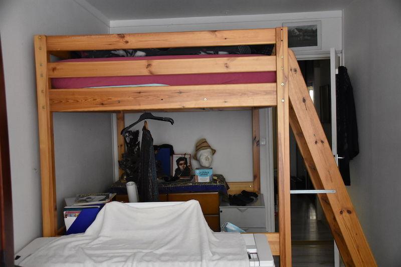 Lit mezzanine 2 places 100 Paris 17 (75)