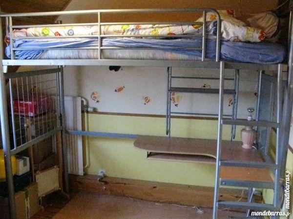 achetez lit mezzanine pour occasion annonce vente. Black Bedroom Furniture Sets. Home Design Ideas
