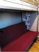 Lit Mezzanine simple avec futon double, matelas compris 159 Caluire-et-Cuire (69)