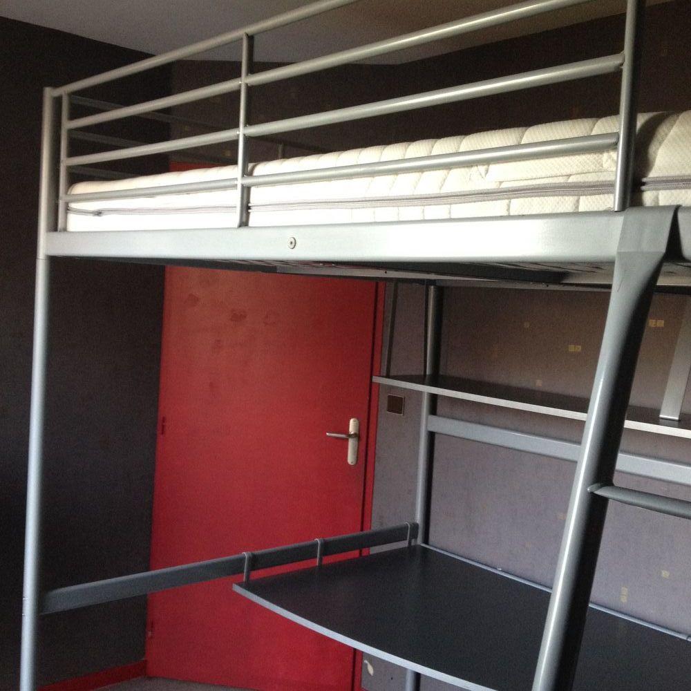 lits mezzanine occasion grenoble 38 annonces achat et vente de lits mezzanine paruvendu. Black Bedroom Furniture Sets. Home Design Ideas