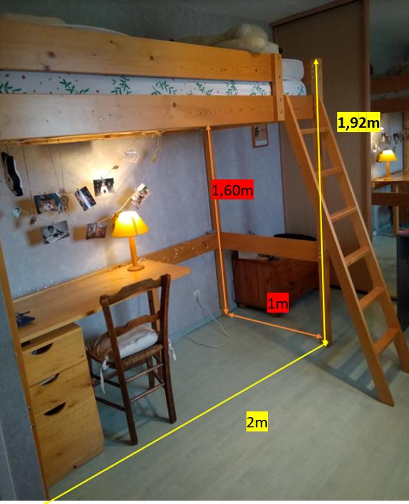 lit mezzanine  160 Jonage (69)