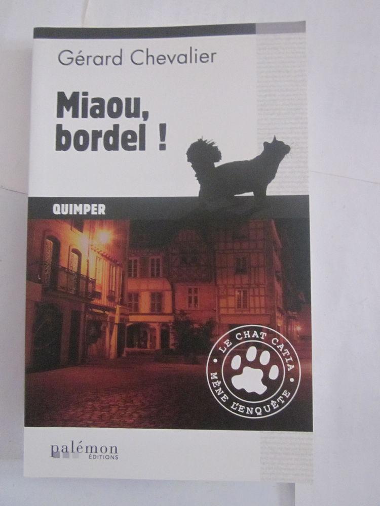 MIAOU BORDEL ( QUIMPER  )  policier  BRETON PALEMON 3 Brest (29)