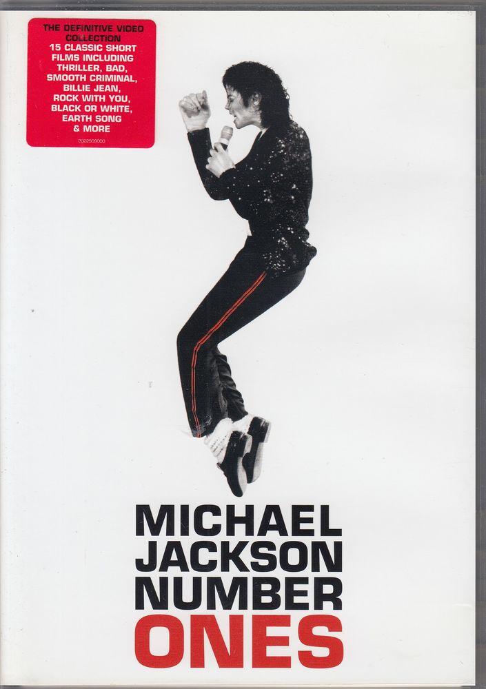 DVD     Michael Jackson   -   Number Ones 4 Antony (92)