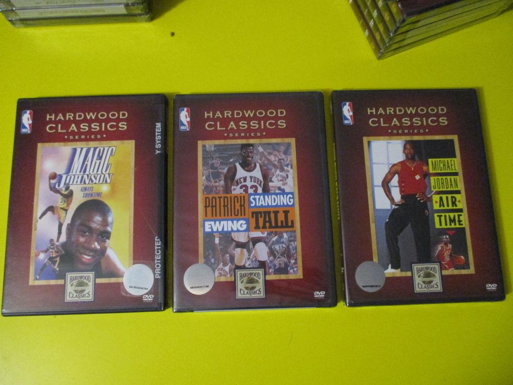 DVD MICHAEL JORDAN MAGIC JOHNSON PAT EWING BASKET NBA  15 Lognes (77)