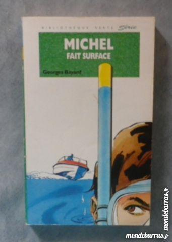MICHEL FAIT SURFACE BIBLIO VERTE SOUPLE 228 Livres et BD