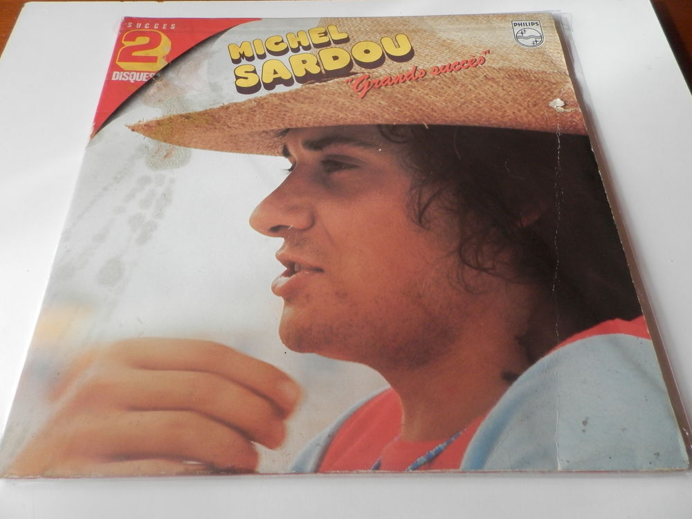 Michel Sardou - Grands succès double 33 tours CD et vinyles