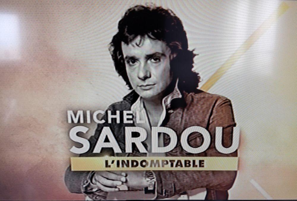 "DVD Michel SARDOU ""L'INDOMPTABLE"" DVD et blu-ray"