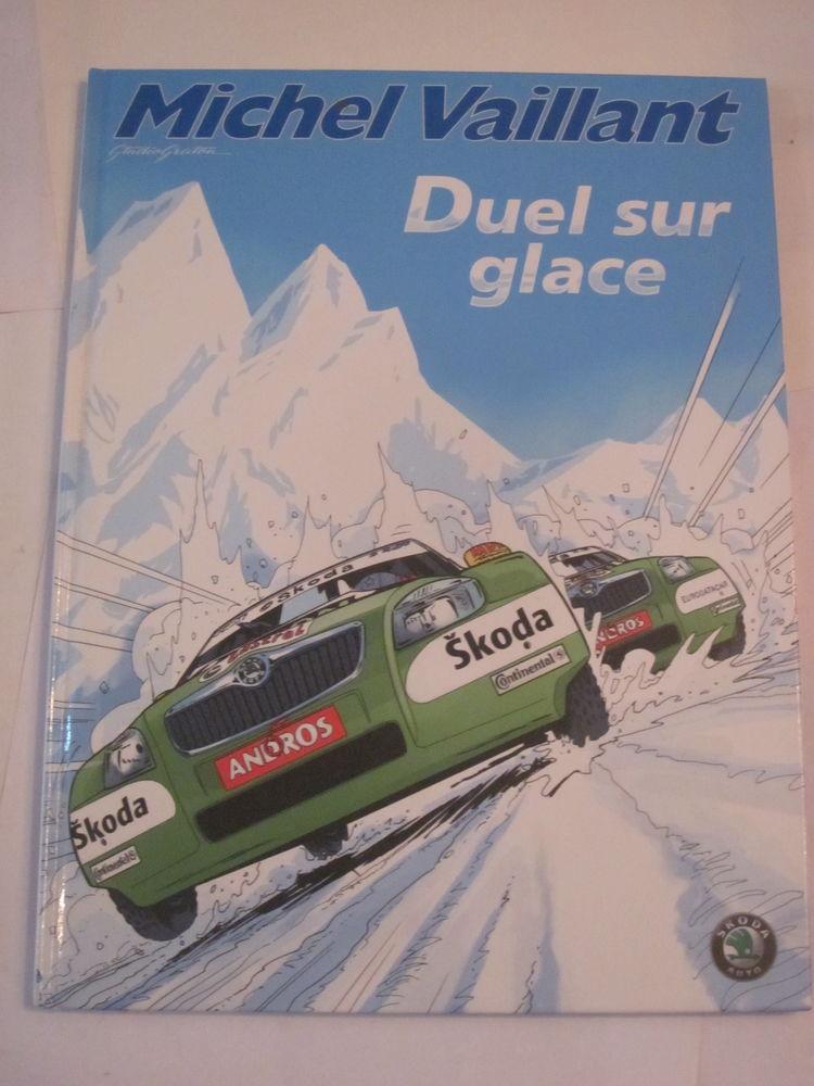 BD - MICHEL VAILLANT -  DUEL SUR GLACE -  édition originale 20 Brest (29)