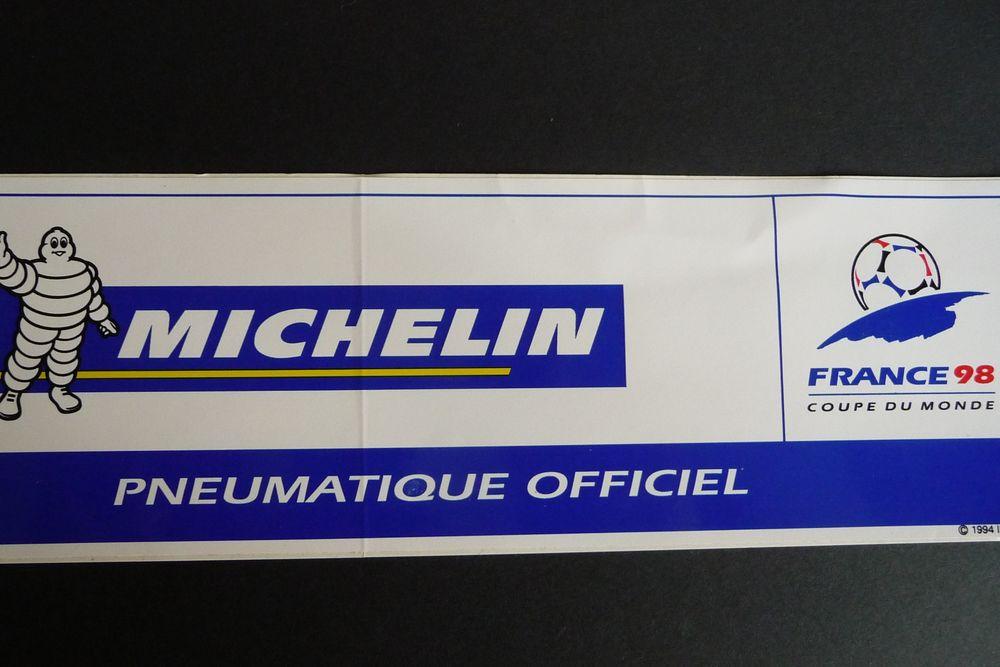 Michelin auto-collant 10 cm x 3 cm 2 Nancy (54)