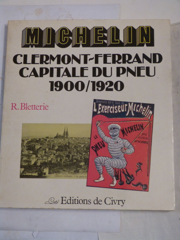 MICHELIN CLERMONT FERRAND CAPITALE DU PNEU  1900 - 1920 15 Brest (29)