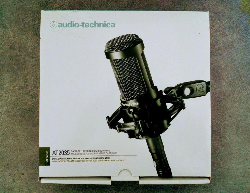 Micro AUDIO TECHNICA AT2035 120 Nancy (54)
