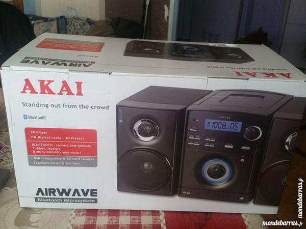 Micro Chaine Akai AMBT-63 Noir Audio et hifi