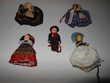 lot de 5 micro poupées pa68