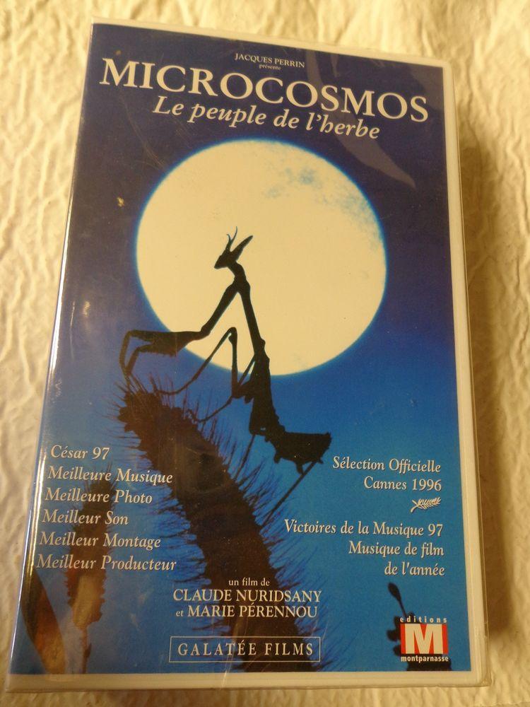 MICROCOSMOS, LE PEUPLE DE L'HERBE, K7 VIDEO DVD et blu-ray