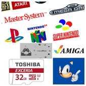 MicroSD Retro gaming Raspberry Pi 3 Recalbox +5500 jeux 35 Montrozier (12)