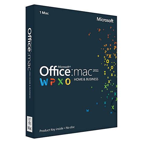 Microsoft Office 2011 Mac Home & Business Matériel informatique