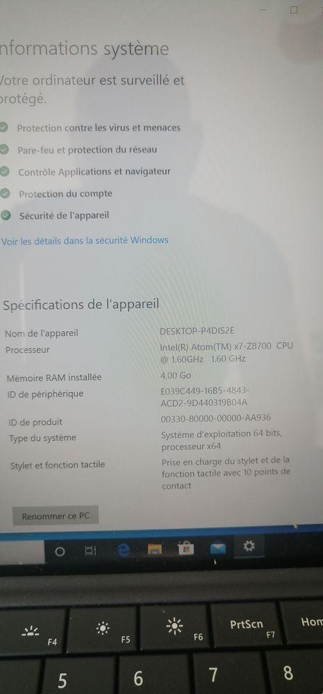 Microsoft surface 3 Matériel informatique