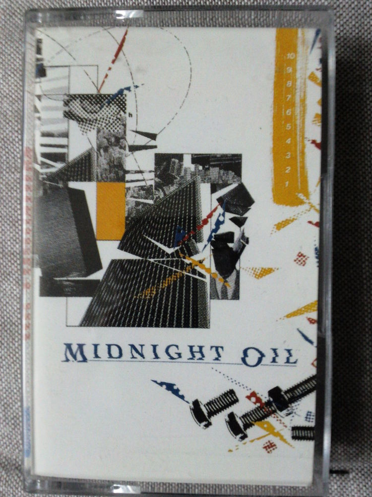 K7 Midnight Oil 10,9,8,7,6,5,4,3,2,1 CD et vinyles