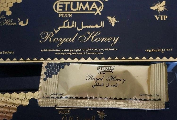 miel etumax royal honey boîte de 12 miel 50 Dax (40)