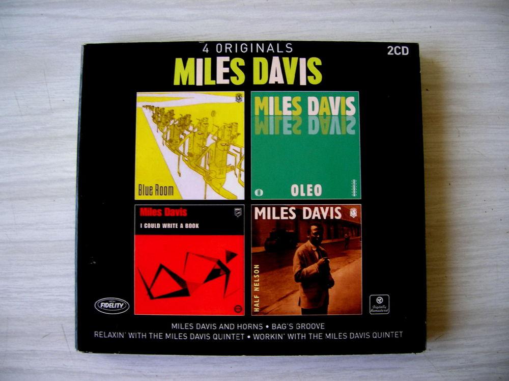 MILES DAVIS Double CDS (4 albums) 11 Nantes (44)