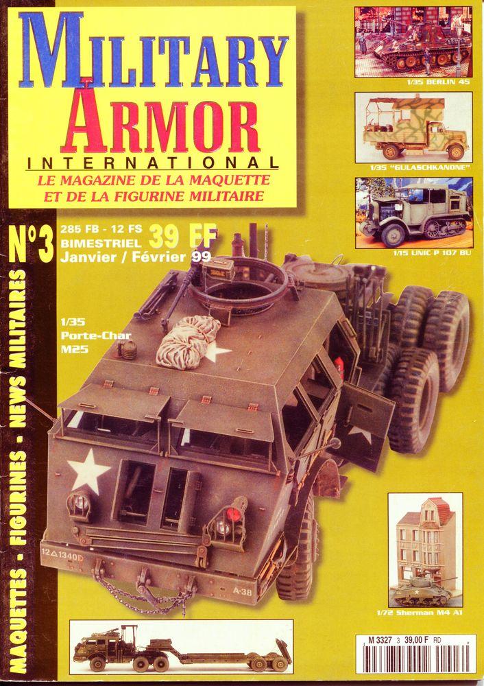 Military Armor International N°03 3 Hellemmes Lille (59)