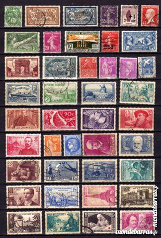 Des milliers de timbres Oblitérés 1 La Seyne-sur-Mer (83)
