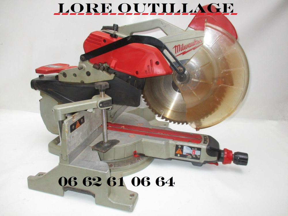 MILWAUKEE MS 304 DB Scie onglet radiale Bricolage