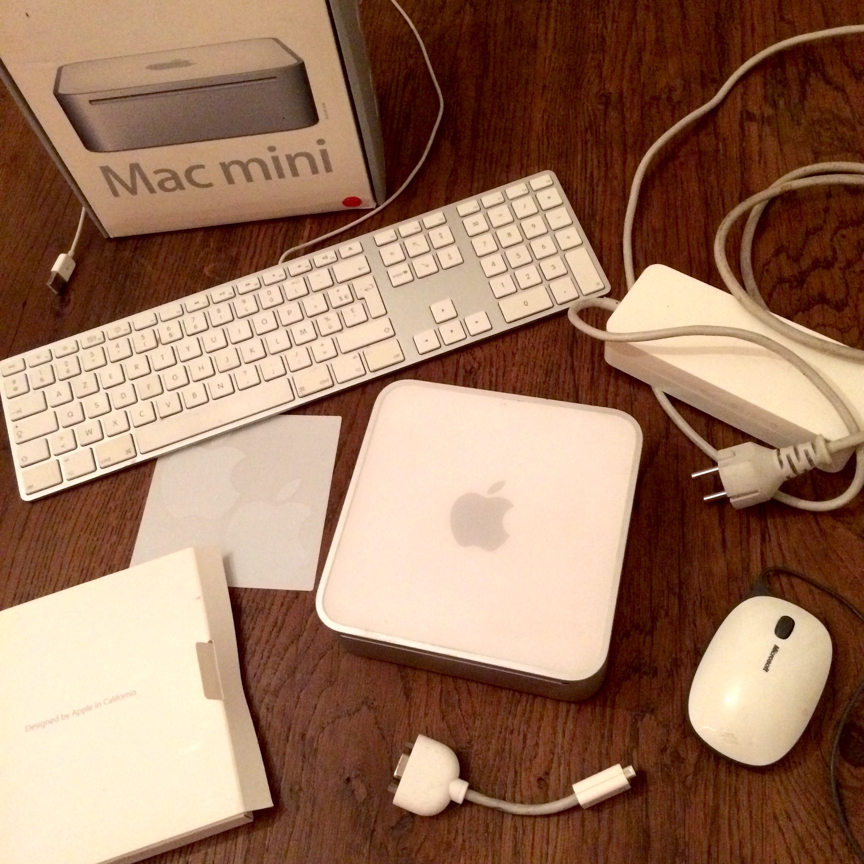 Mac Mini (fin 2009) en très bon état 180 Aubervilliers (93)