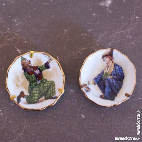 Mini assiettes en porcelaine de Limoge 20 Cabestany (66)