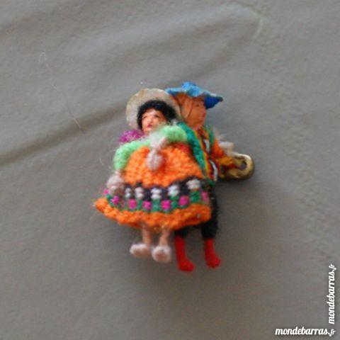 Mini broche en tissus péruviens 2 Cabestany (66)