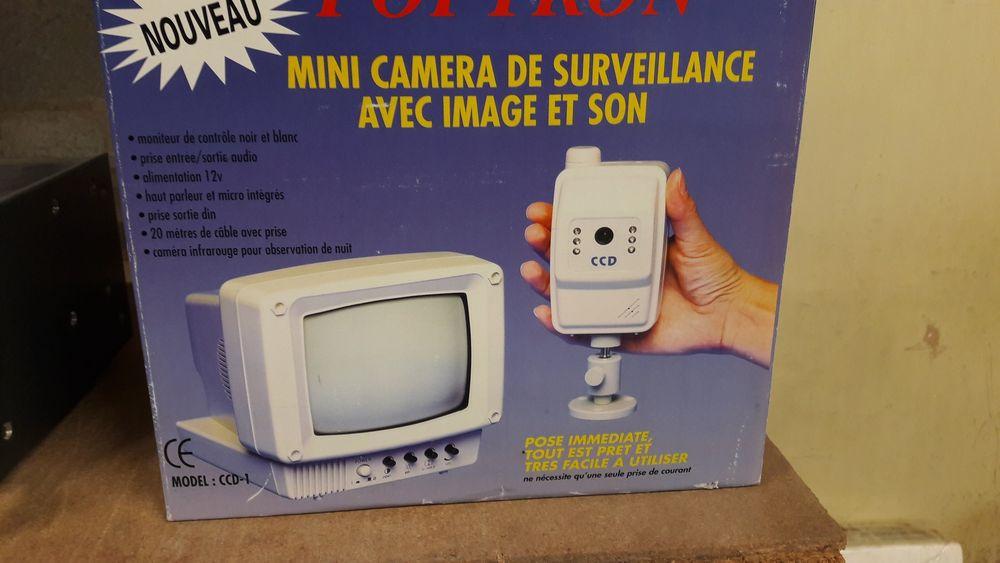 Mini caméra de surveillance INFRA ROUGE NB avec moniteur NB 50 Angers (49)