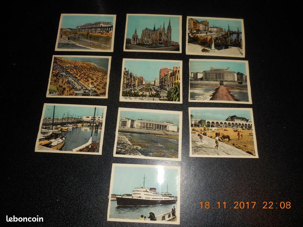 mini cartes postales vintage ostande 0 Sète (34)