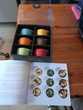 mini cocottes par 6 NEUVES MARABOUT diverses couleur+ livre Cuisine
