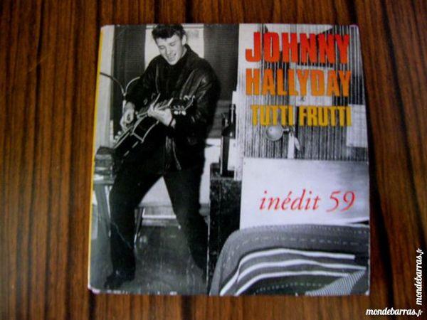 MINI CD JOHNNY HALLYDAY Tutti frutti Inédit 1959 23 Nantes (44)