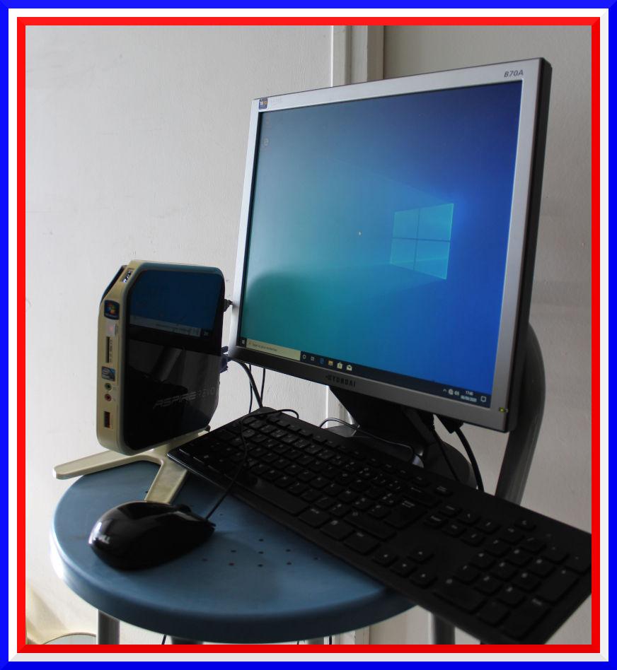 MINI Ordinateur PC ACER SSD W10 complet écran/clavier/souris 100 Saint-Maur-des-Fossés (94)