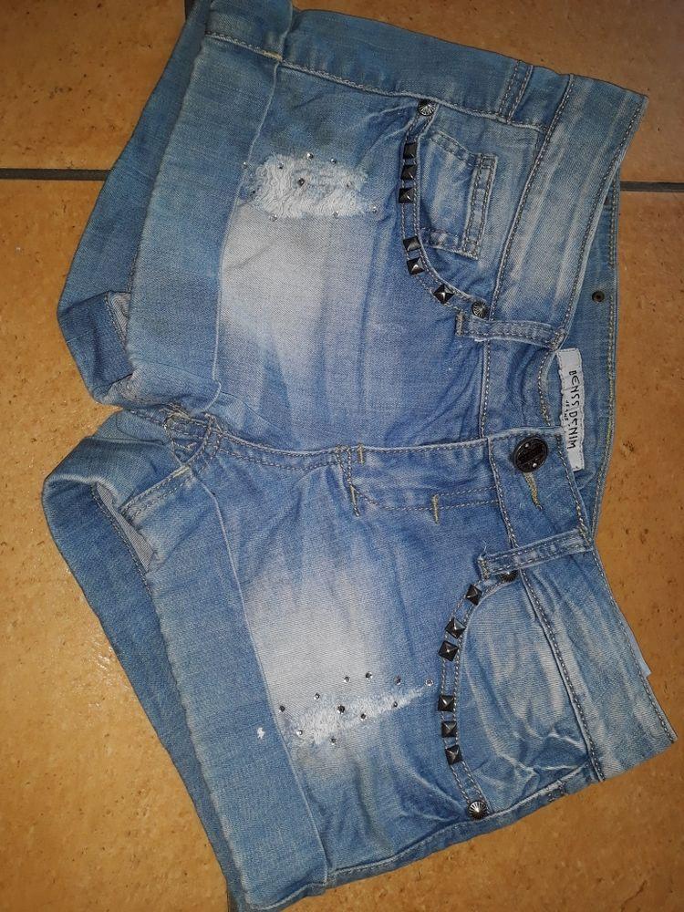 mini short bleu en jean. marque Benss. 6 Limeil-Brévannes (94)