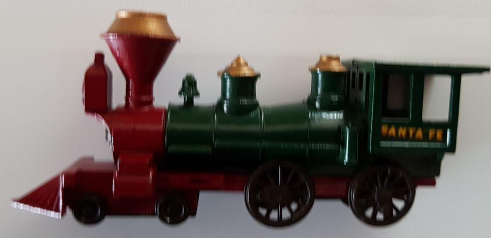 Miniature ancienne American General locomotive Lesney 30 Marignane (13)