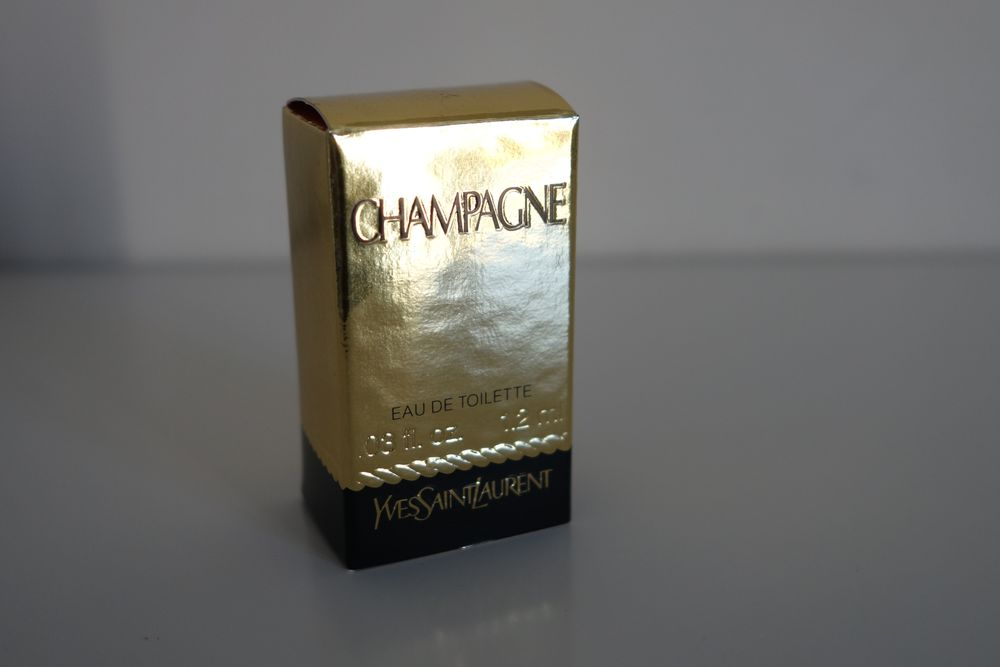 Miniature Champagne Yves Saint Laurent 6 Montcourt-Fromonville (77)