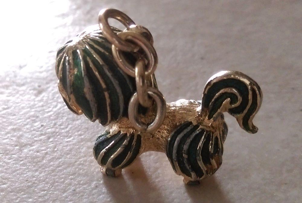miniature chien laiton pour déco ou bracelet  H 2 x L 3 x l  3 Marseille 9 (13)