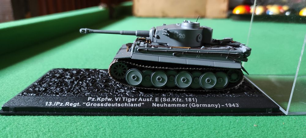 Miniature collection Char allemand seconde guerre mondiale 10 Brissay-Choigny (02)
