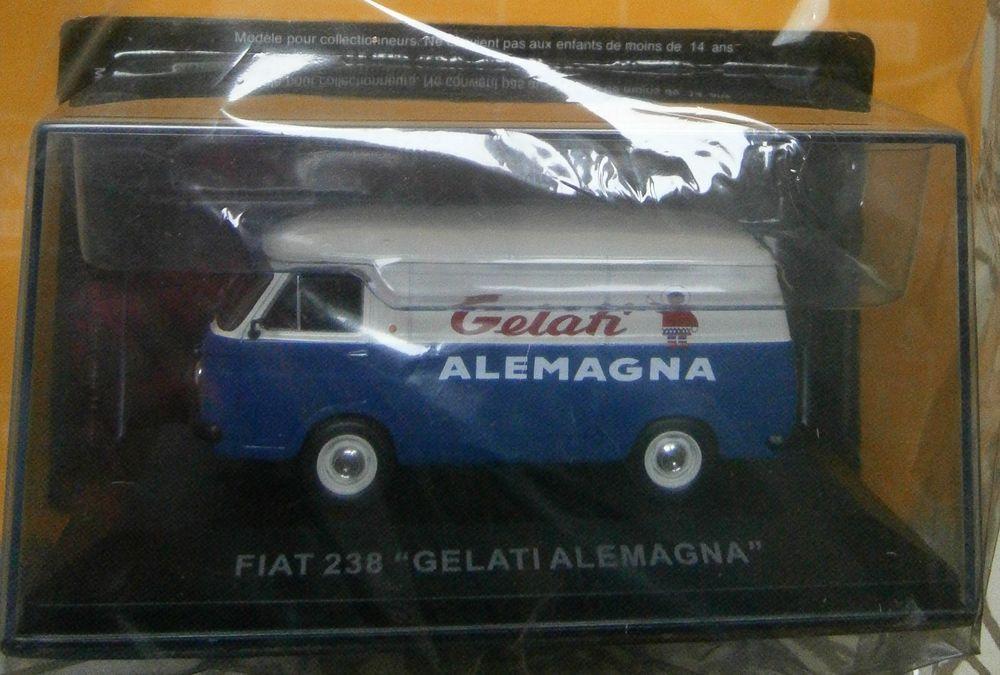 Miniature Fiat 238  Gelati Alemagna  Nos chères camionnettes 10 Kervignac (56)