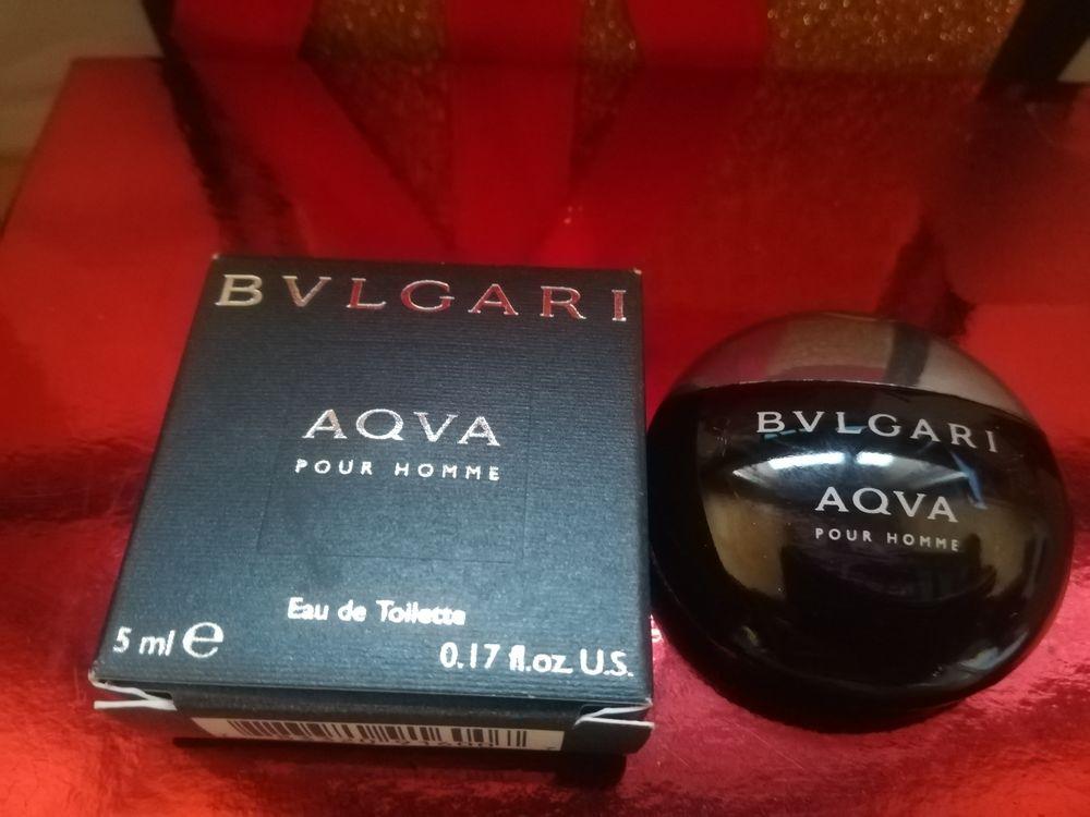 "Miniature de parfum ""AQVA"" de Bvlgari, EDT, 5ml."