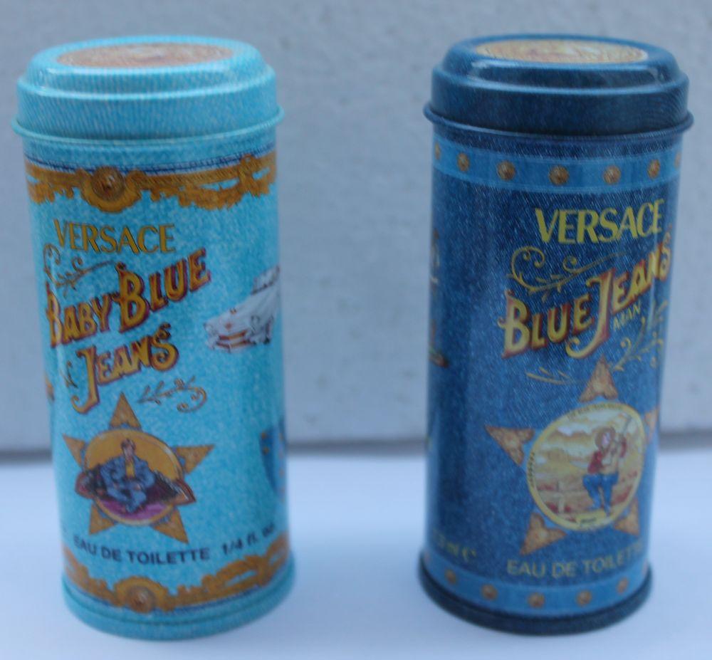 Miniature VERSACE  Blue Jeans  dans sa boite acier décorée  20 Vitry-sur-Seine (94)