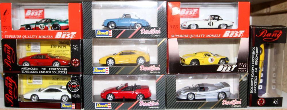 10 miniatures autos bang détailcars 110 Montcy-Notre-Dame (08)