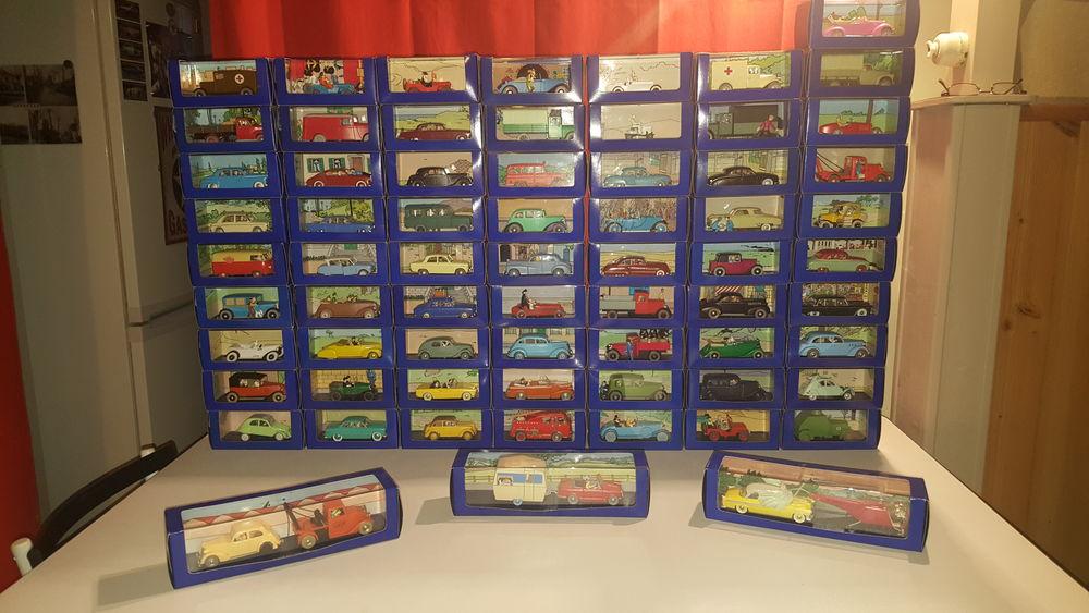 "Miniatures collection ""En voiture Tintin"" édition Atlas"
