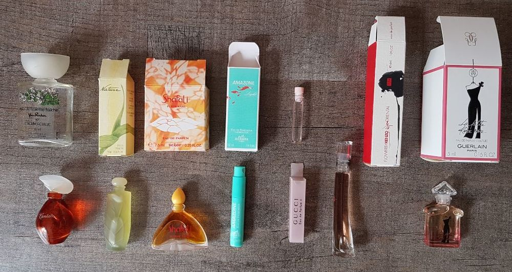 Miniatures de parfum diverses
